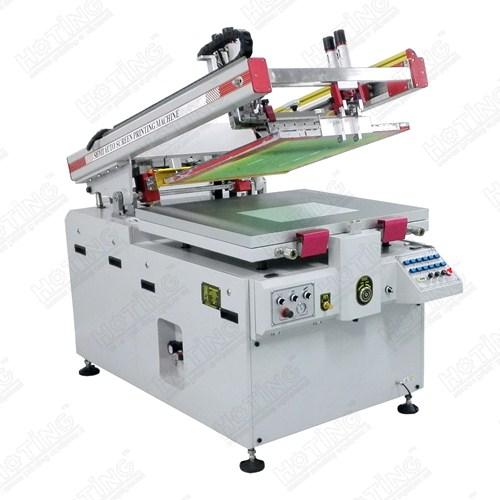 斜臂式半自动欧宝体育平台介绍印刷机